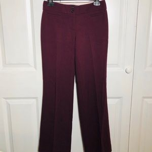 Maroon Loft Dress Pants